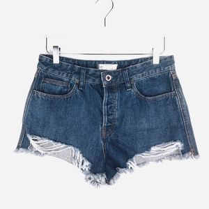 Free People Logan Cutoff Denim Shorts Sz 29
